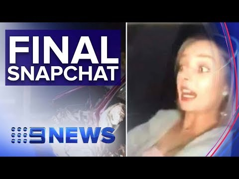 The News Junkie - Woman Snapchats Deadly Collision