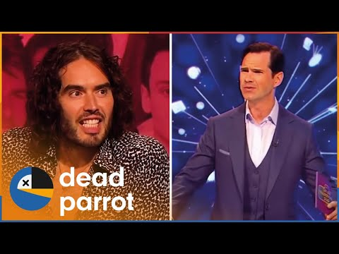 Russell Brand & Noel Fielding Mess Sh*t Up | Big Fat Quiz | Dead Parrot