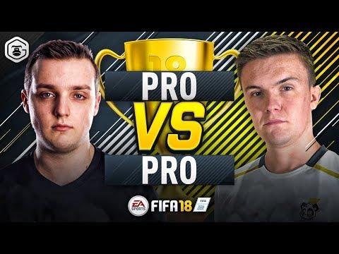 PRO vs PRO | GORILLA vs LP DRAGONN | FUT CHAMPIONS TOP 100 PLAYERS | FIFA 18 ULTIMATE TEAM #1