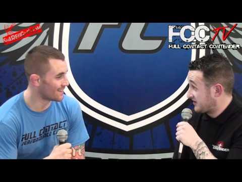 Jamie Hay Interviews Martin Stapleton FCC TV Full Contact Contender