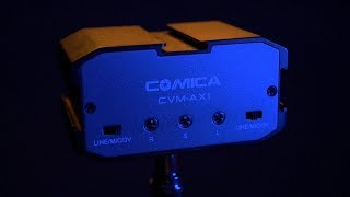 Budget Audio Mixer for Video:  Comica CVM-AX1