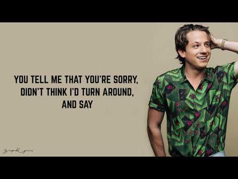 Charlie Puth - Apologize (Lyrics)