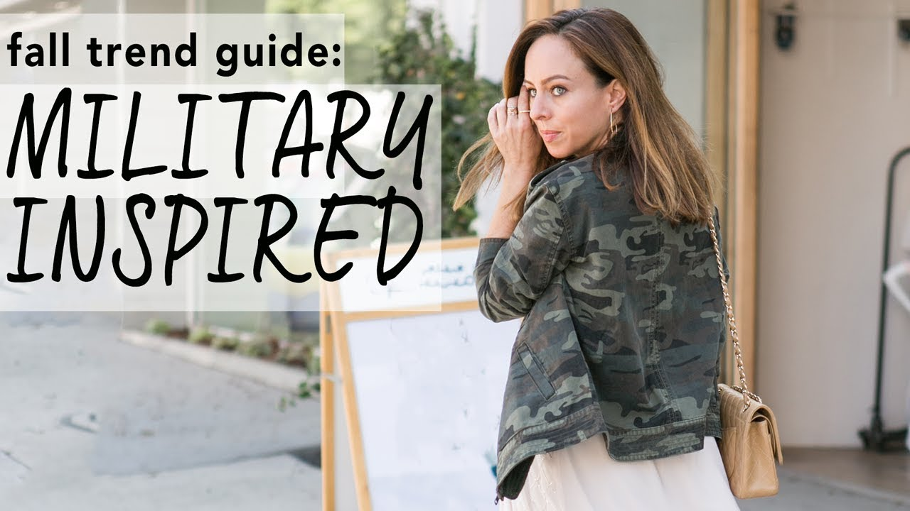 MILITARY Inspired Outfit Ideas I Fall Trend Guide