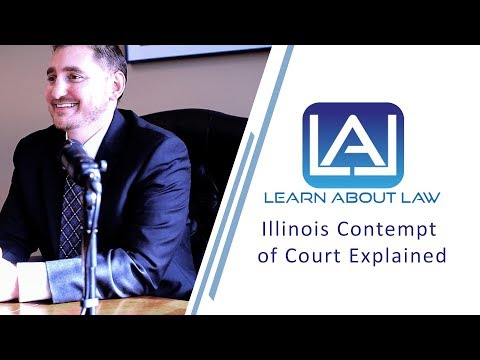 Illinois Contempt of Court Explained   Petitions for Rule To Show Cause