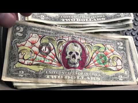 Hobo $2.00 Bank Note? Hunting A Huge Stack Of Bank Notes For Star Notes