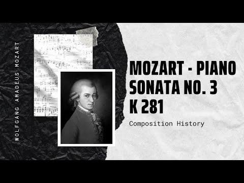 Mozart - Piano Sonata No. 3 K 281