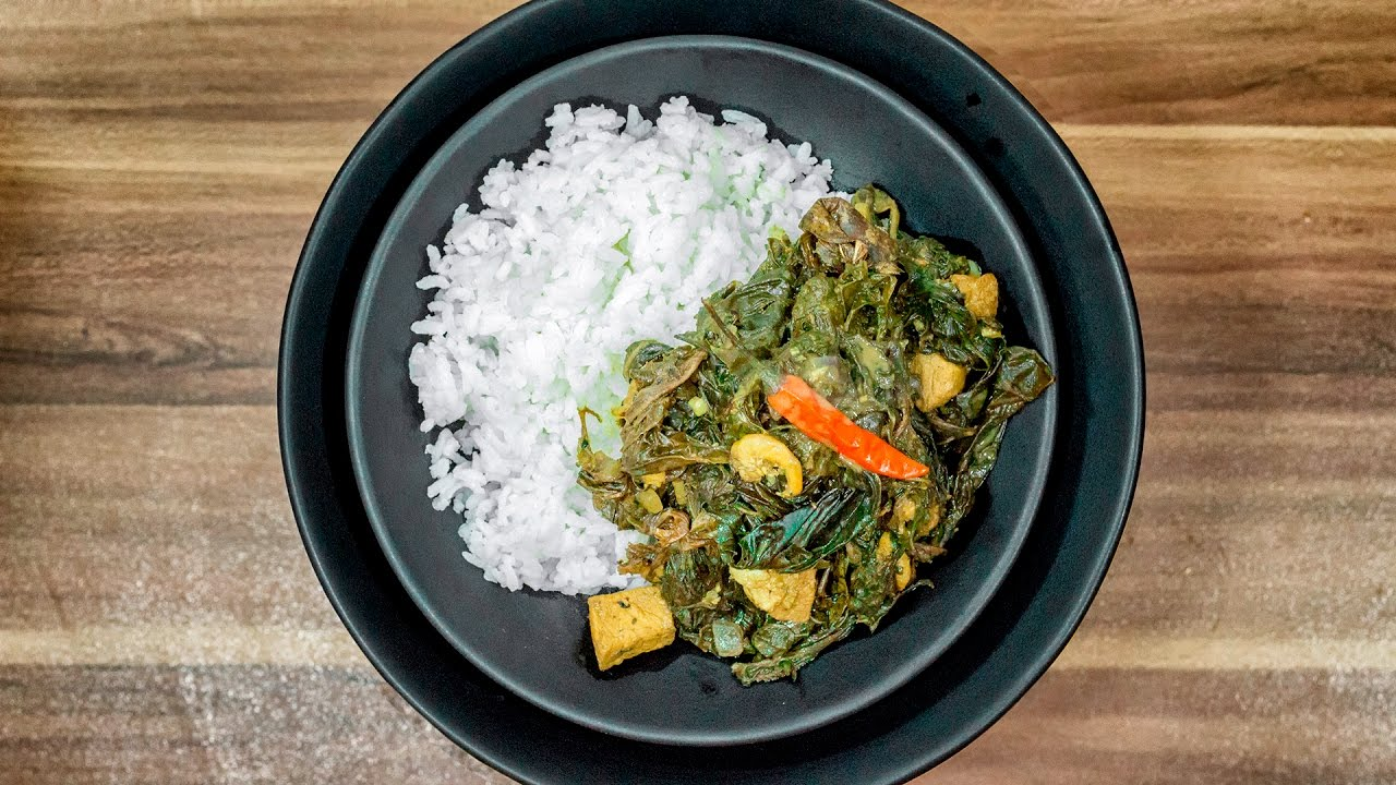 À�short Version】taro Leaves In Coconut Milk  Laing  How To Cook