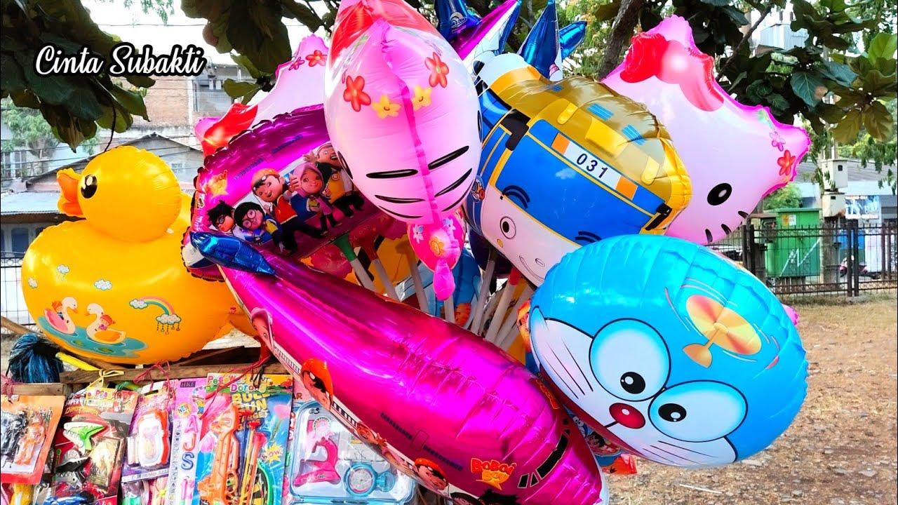 Cinta Subakti Beli Balon Tayo ♥️ Serunya Main di Istana Balon Karakter