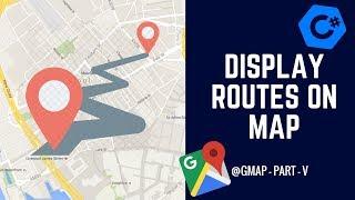İki yer Arasındaki Yolları Nasıl C# GMAP? - GMap Bölüm V - Bir