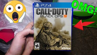 FOUND Call Of Duty BLACK OPS 4 - Gamestop Dumpster Dive Night #483