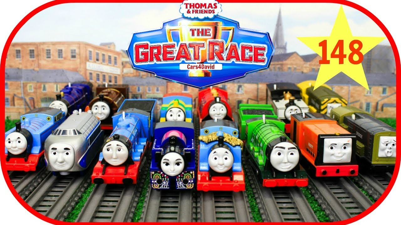 Thomas And Friends The Great Race 148 Trackmaster Ashima