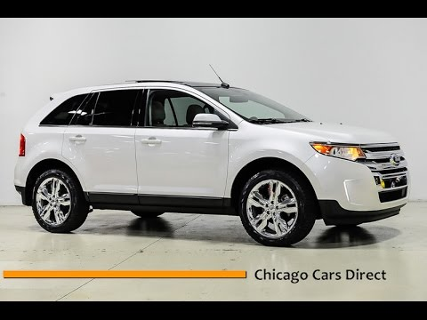 Chicago Cars Direct Reviews Presents a 2014 Ford Edge Limited AWD - BA82374
