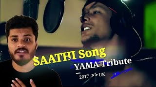 REACT ON YAMA BUDDHA SAATHI SONG | TRIBUTE SPECIAL | NEPALI RAPPER