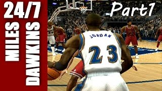 Michael Jordan Through The Years part 1 - NBA Live 97 - NBA 2k3
