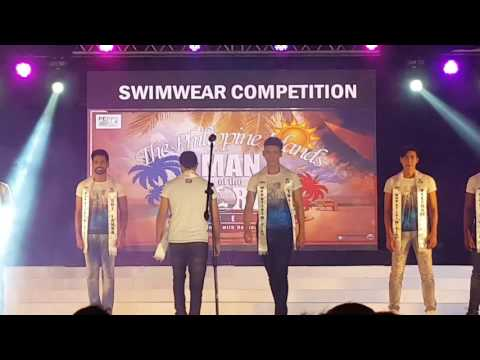 Man of the World 2017 - Swimwear Competition part 1