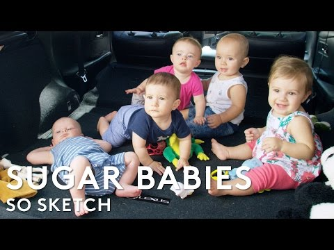 Sugar Babies - Motherhood Without The Hassle | So Sketch | RIOT