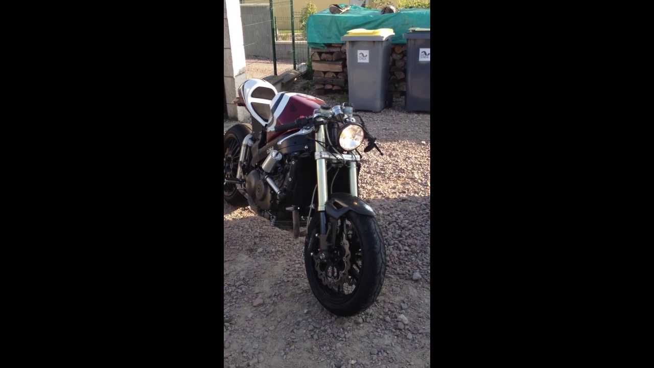 honda vfr fi café racer home made - youtube