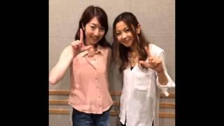 倉木麻衣さんゲスト出演。インタビューを受けていました。両A面シングル...