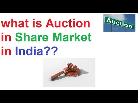 What is Auction in Stock Market in India