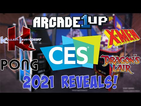 Arcade1UP CES 2021 Reveals! (X-Men, Killer Instinct, Dragon's Lair, & More!) from The Toy Room
