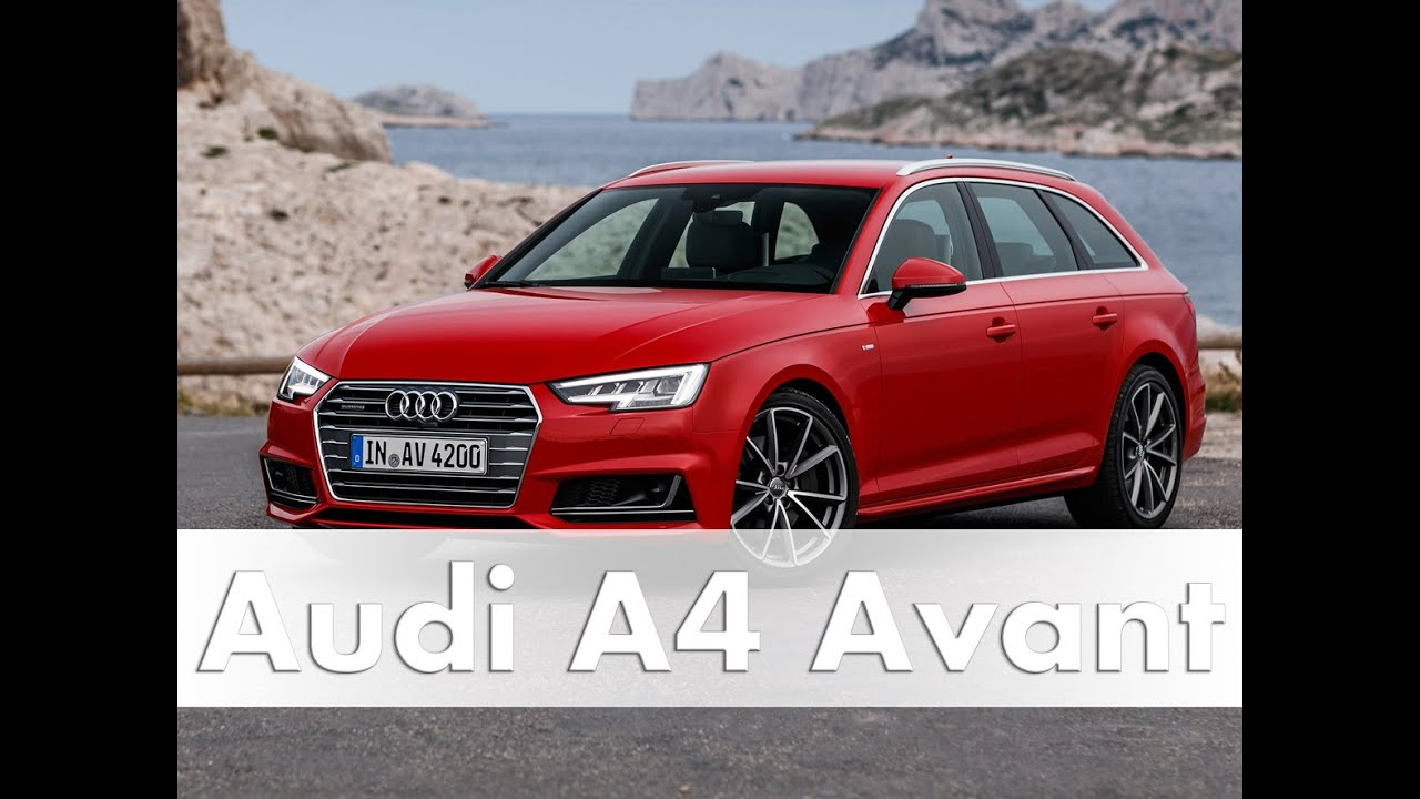 audi a4 avant modell 2016 b9 test fahrbericht auto deutsch youtube. Black Bedroom Furniture Sets. Home Design Ideas