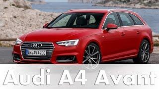 Audi A4 Avant Modell 2016  (B9)  - Test & Fahrbericht | Auto | Deutsch