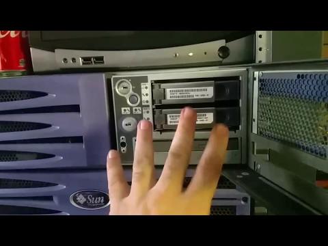 Setting up servers - PT 1 of 4 - Sun V490