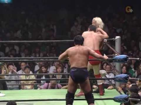 Mutoh and Taue vs. Takayama and Kobashi Part 2