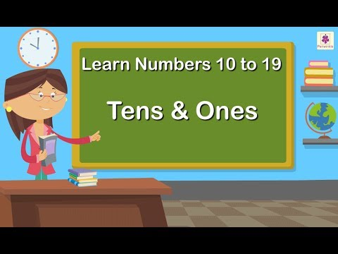 fae95319342 Learn Numbers 10 to 19 | Tens & Ones | Maths Concept For Kids | Grade 1