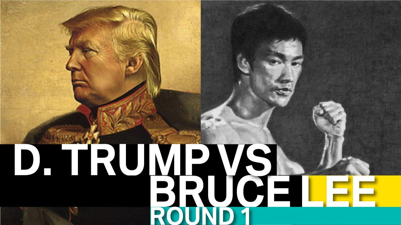 Interview Donald Trump vs Bruce Lee (USA vs China WW3 ...