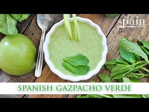 Eco-friendly Cucumber Gazpacho