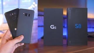Samsung Galaxy S8 Camera vs LG G6!