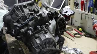 Toyota MR2 2ZZ Gearbox LSD Install (Finishing the GearBox)