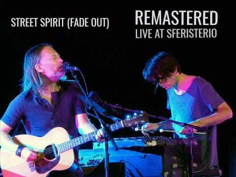 Radiohead - STREET SPIRIT (FADE OUT) | REMASTERED acoustic live at Sferisterio