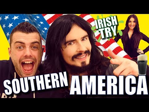 Irish People UnBoxing 'SOUTHERN AMERICAN' Christmas Treats!!