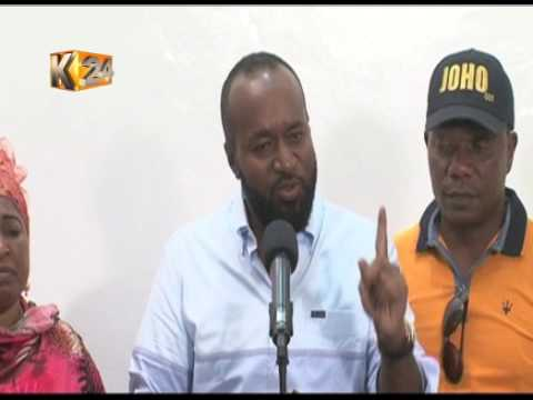 Governor Joho admits to scoring a D- grade in KCSE