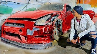 BUYING A CRASHED GTR IN DUBAI !!!