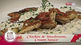 Idol sa Kusina recipe: Chicken with Mushroom Cream Sauce