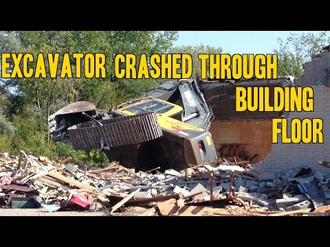 Heavy Equipment Accidents Caught On Tape