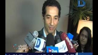 محمد سعد يكشف لكاميرا