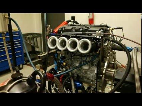 2 0L Road Race Engine on the engine dyno - Honda-Tech
