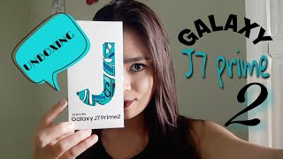 GALAXY J7 PRIME 2 - UNBOXING