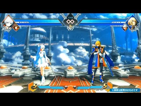 WEISS SCHNEE GAMEPLAY PREVIEW!!! - Blazblue Cross Tag Battle (Early Build)