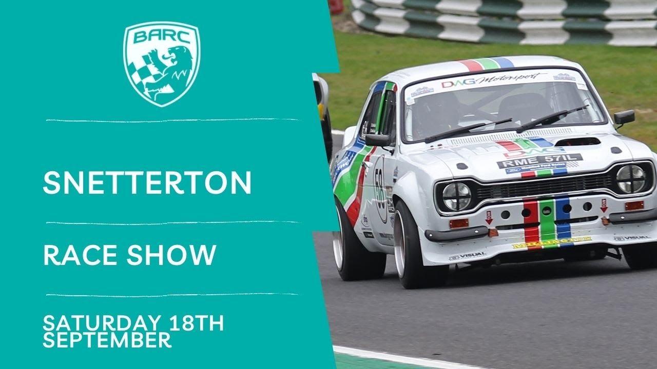 Download BARC LIVE   Race Show   Snetterton   September 18 2021