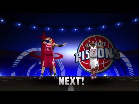 NBA Finals Game - 2 (Houston Rockets VS Detroit Pistons)