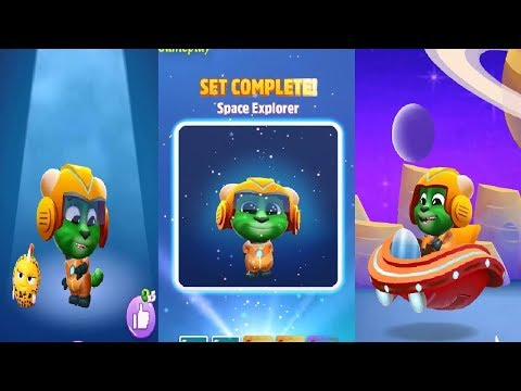 My Talking Tom 2 New Update  2019 -space Explorer Android IOS Gameplay HD