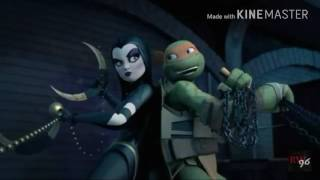 Tmnt 2012 Karai April And Shinigami Take A Hint