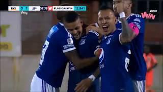 Envigado vs. Millonarios (1-2) | Liga Aguila 2018-II | Fecha 16