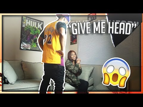 ASKING KYRA MICHELLE TO GIVE ME HEAD PRANK!!! (GONE HORRIBLE) | The Aqua Family