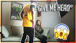 Video ASKING KYRA MICHELLE TO GIVE ME HEAD PRANK!!! (GONE HORRIBLE) | The Aqua Family download MP3, 3GP, MP4, WEBM, AVI, FLV Juni 2018